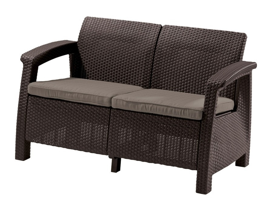 Канапе Allibert Corfu Love Seat (Корфу лав сит)